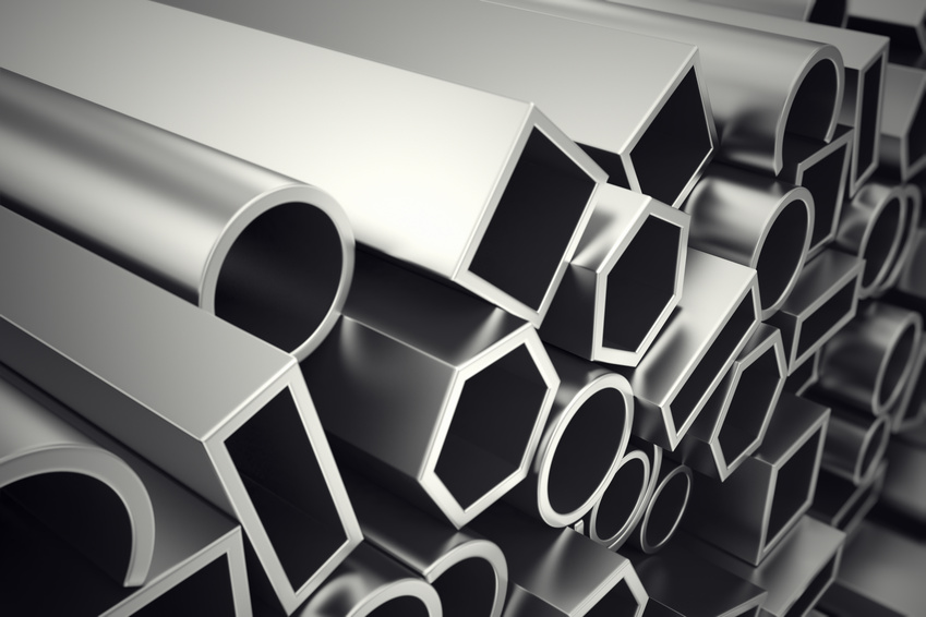 Metalowe kolorowe, aluminium
